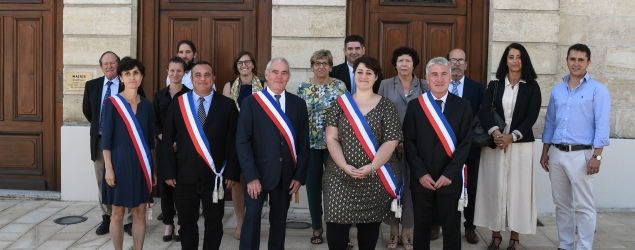 Photo du conseil municipal élu